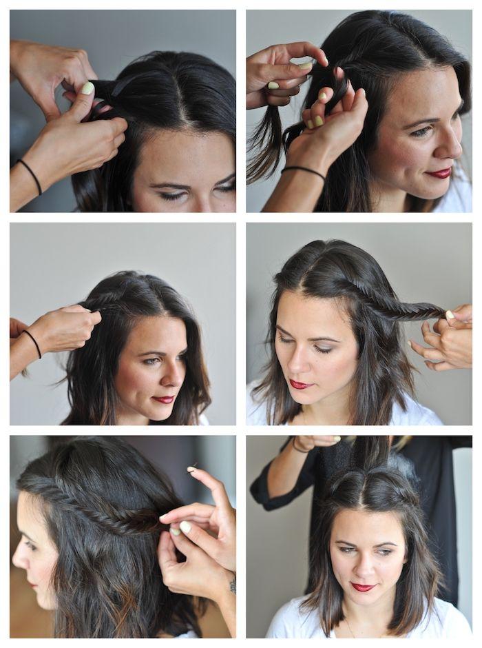 1001 + Idées pour une coiffure mariage cheveux courts + les coiffures des invitées en 2020 (avec ...