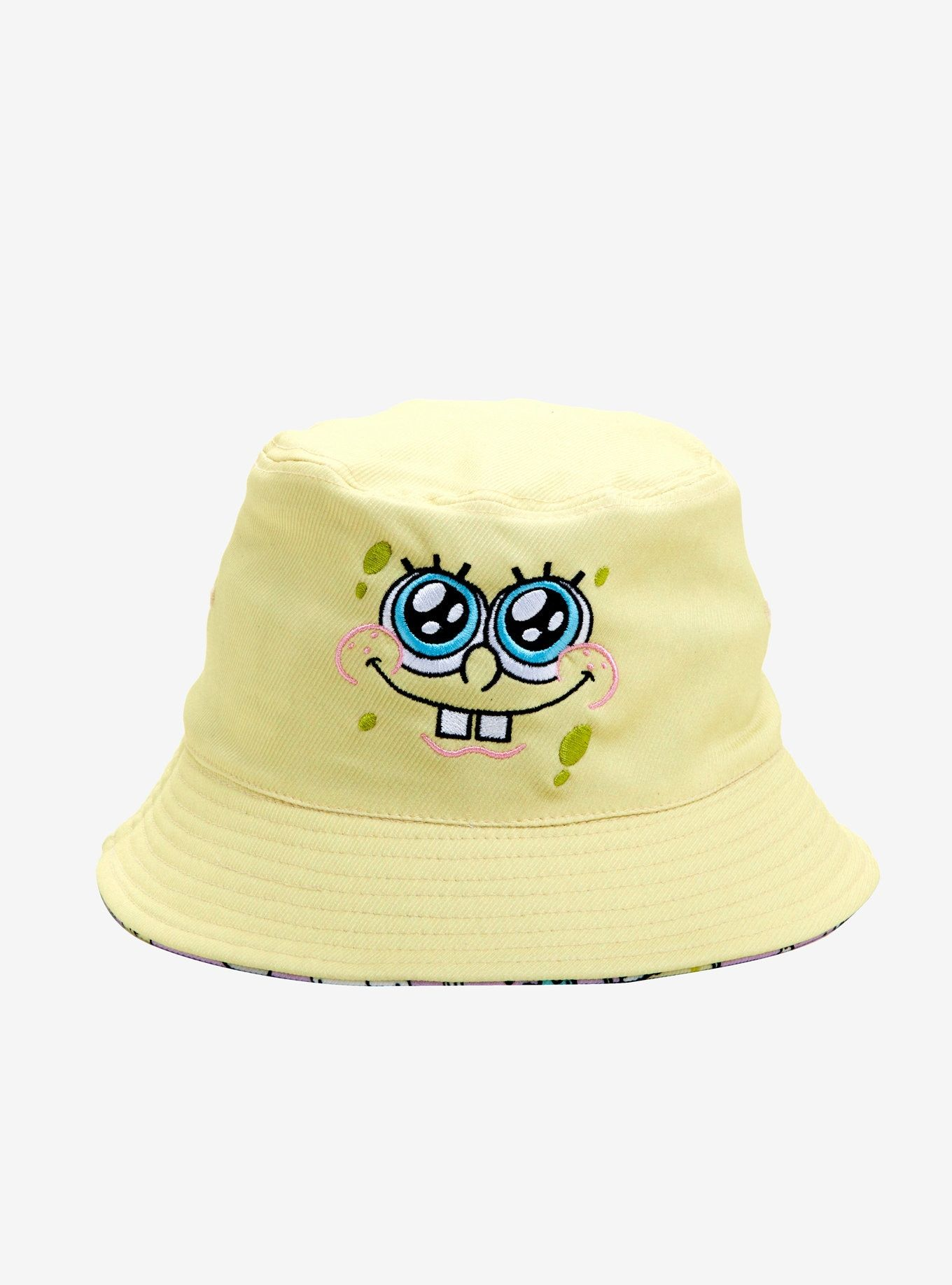 53e4df34aae SpongeBob Squarepants Reversible Bucket Hat