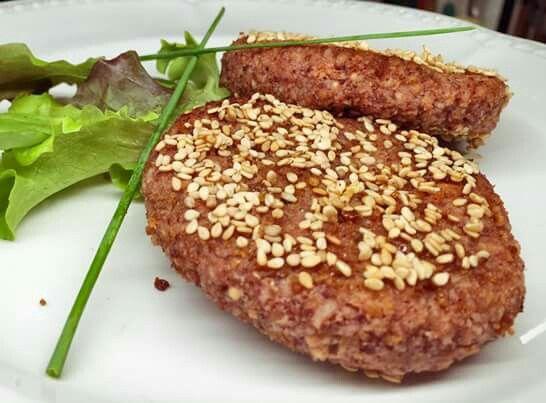 Burger di fagioli (dieta personalizzata)