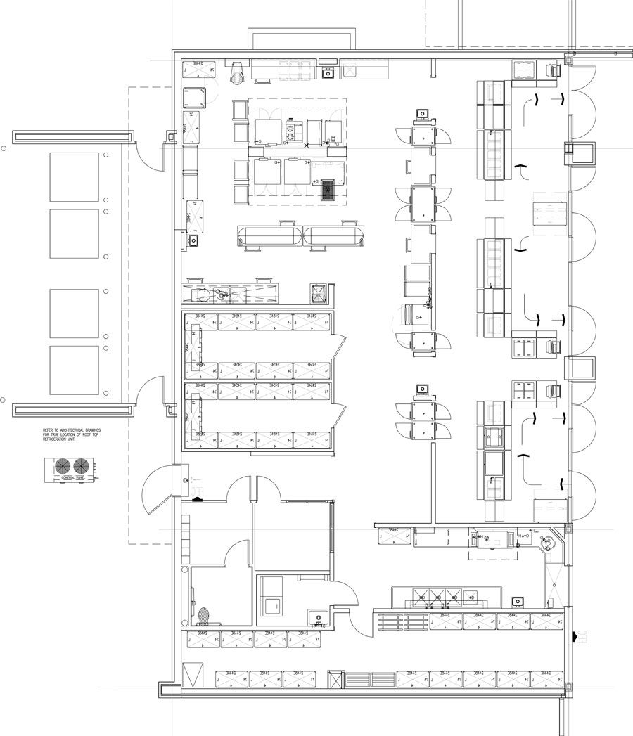 Industrial Kitchen Layout Plan: Professionally Designed Commercial Kitchen Plans And