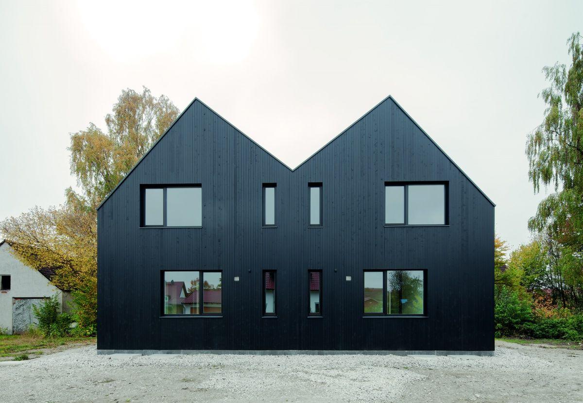 doppelhaus moorenweis anbau pinterest satteldach anbau und architektur. Black Bedroom Furniture Sets. Home Design Ideas
