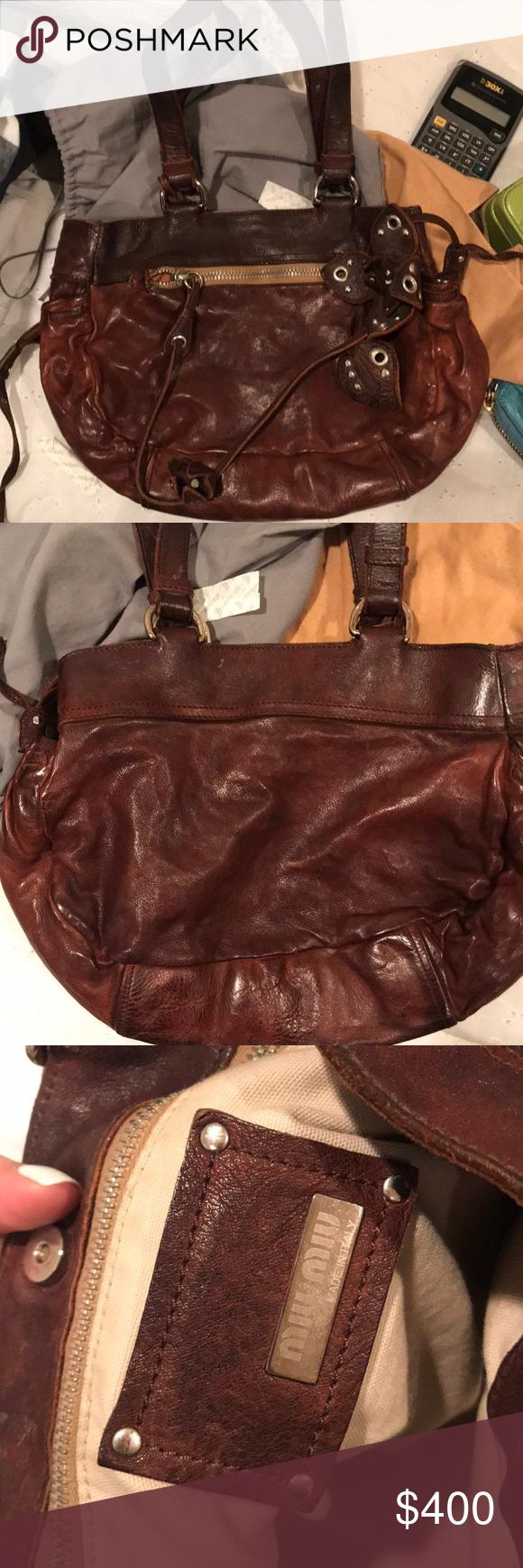 Miu miu bag Vintage brown bag from the spring 2005 collection Miu Miu Bags  Shoulder Bags bce2eddf48