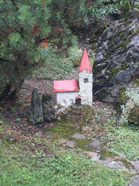 Little concrete church