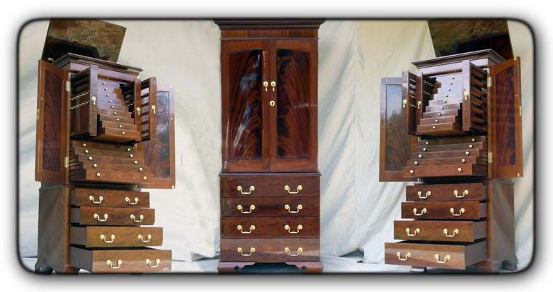Beau Jewelry And Lingerie Armoire   Fivebraids Custom Woodworking, Inc.