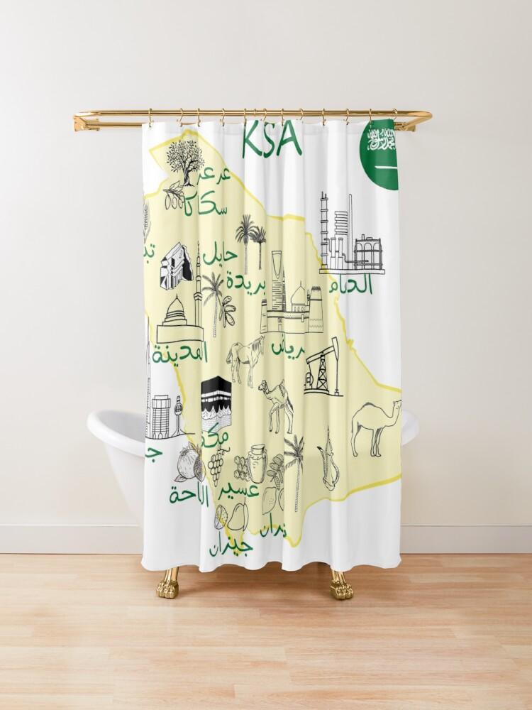 خريطة المملكة العربية السعودية مع اسماء المدن الرئيسية واهم المعالم السياحية التاريخية والاقتصادية والدينية Millions Of How To Draw Hands Map Shower Curtain