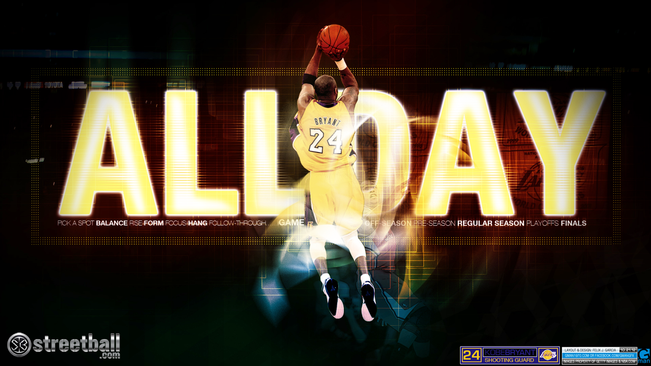 Kobe Bryant Lakers HD Wallpaper On Streetball