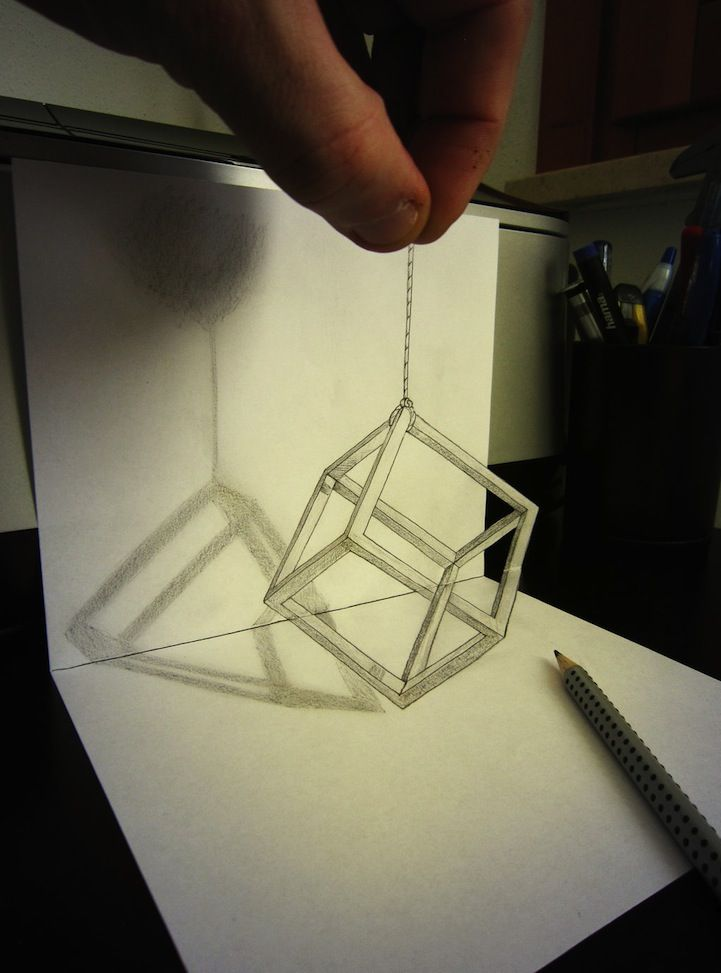 Mind-Boggling Anamorphic Drawings Leap Off the Page - My Modern Metropolis