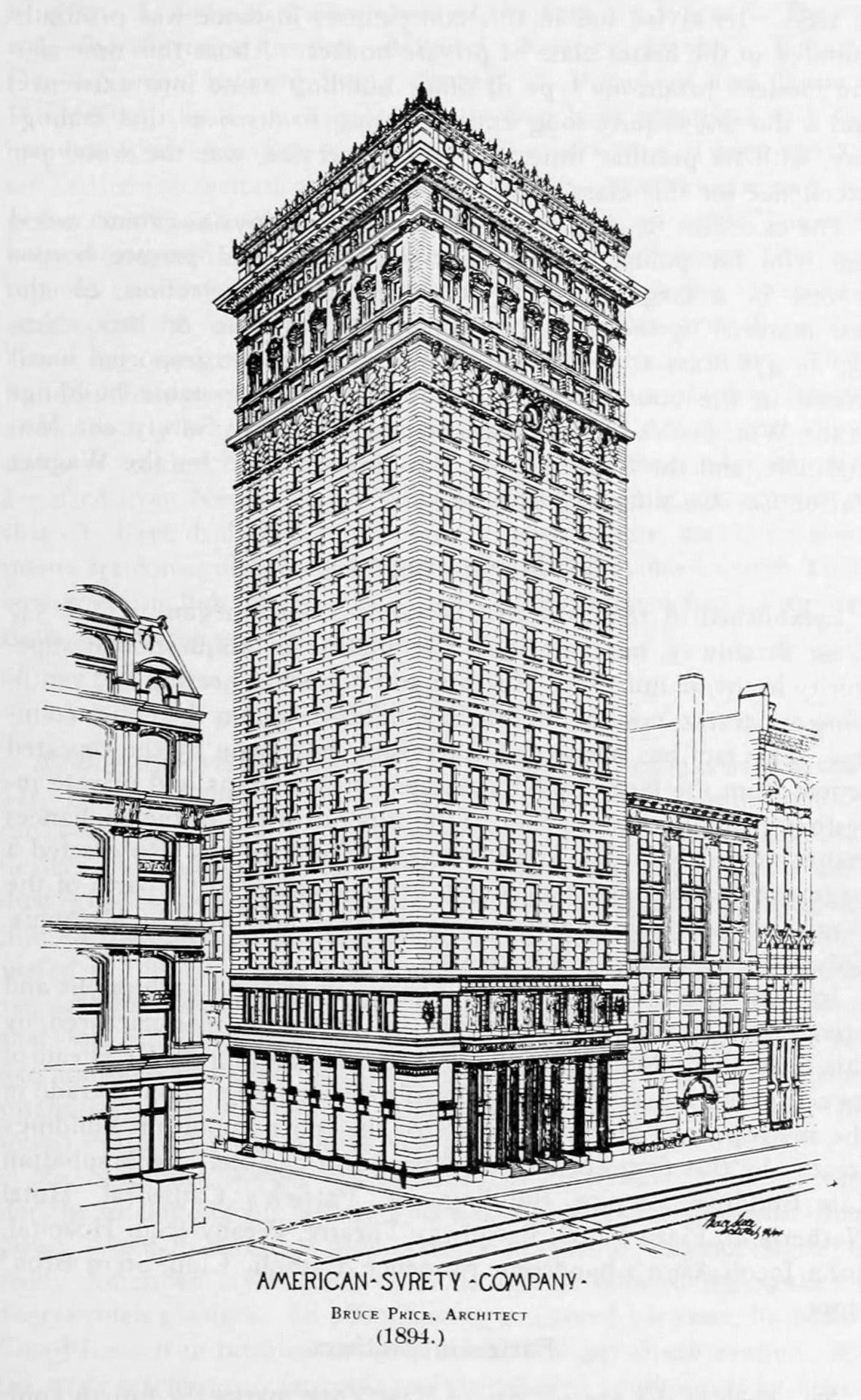 The Building Of The American Surety Company New York City Edificiosantiguos Dibujo De Arquitectura Bocetos Arquitectura Edificios Antiguos