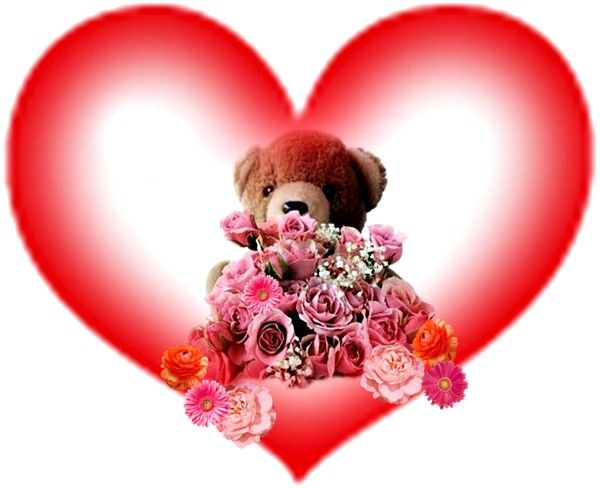 Palabras De Amor Con Dibujos De Amor: Imagenes Peluches De Amor Png