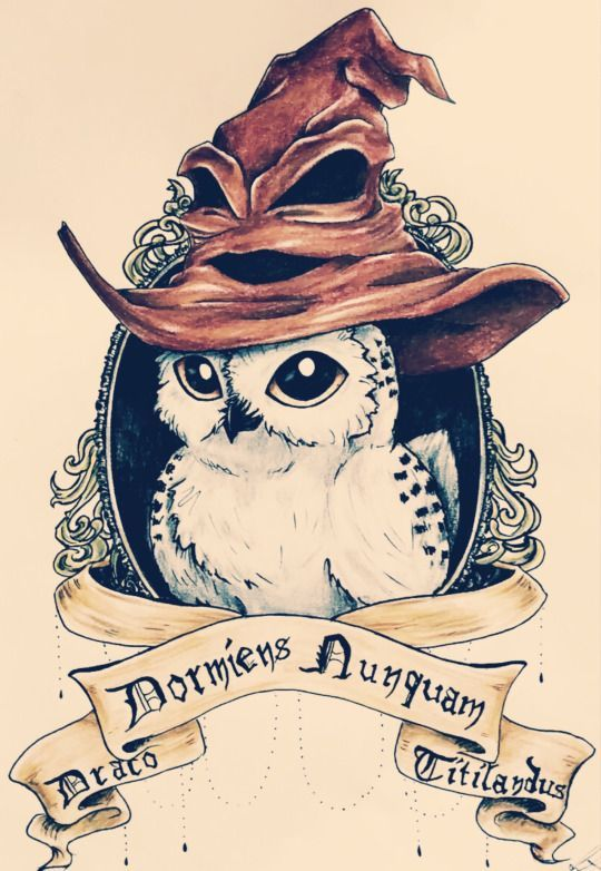 The Owl Is A Unique Bird That Mostly Merged When Insight And Knowledge It Is Plus A Fable Of Approach In Those Mu Harry Potter Tattoos Harry Potter Anime Eule