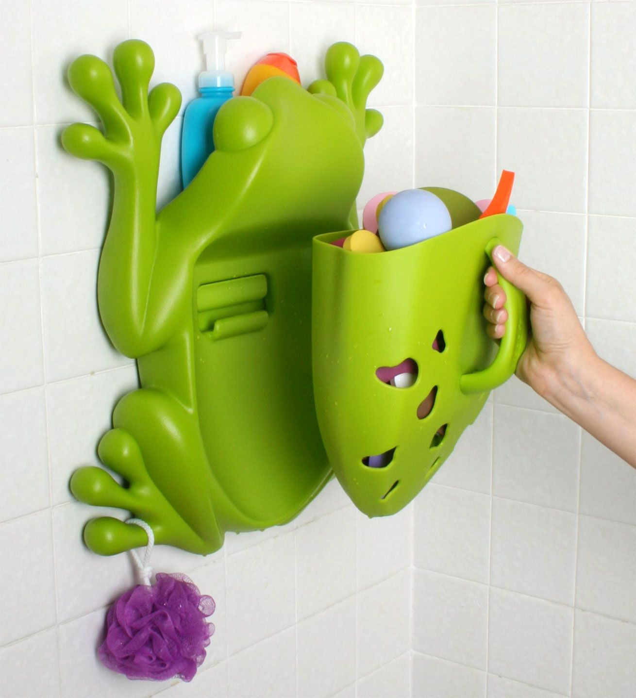 Boon Frog Pod Bath Toy Tidy | Kiddicare | Kid Activities | Pinterest ...