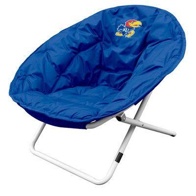 Logo Chairs Collegiate Sphere Chair - Kansas