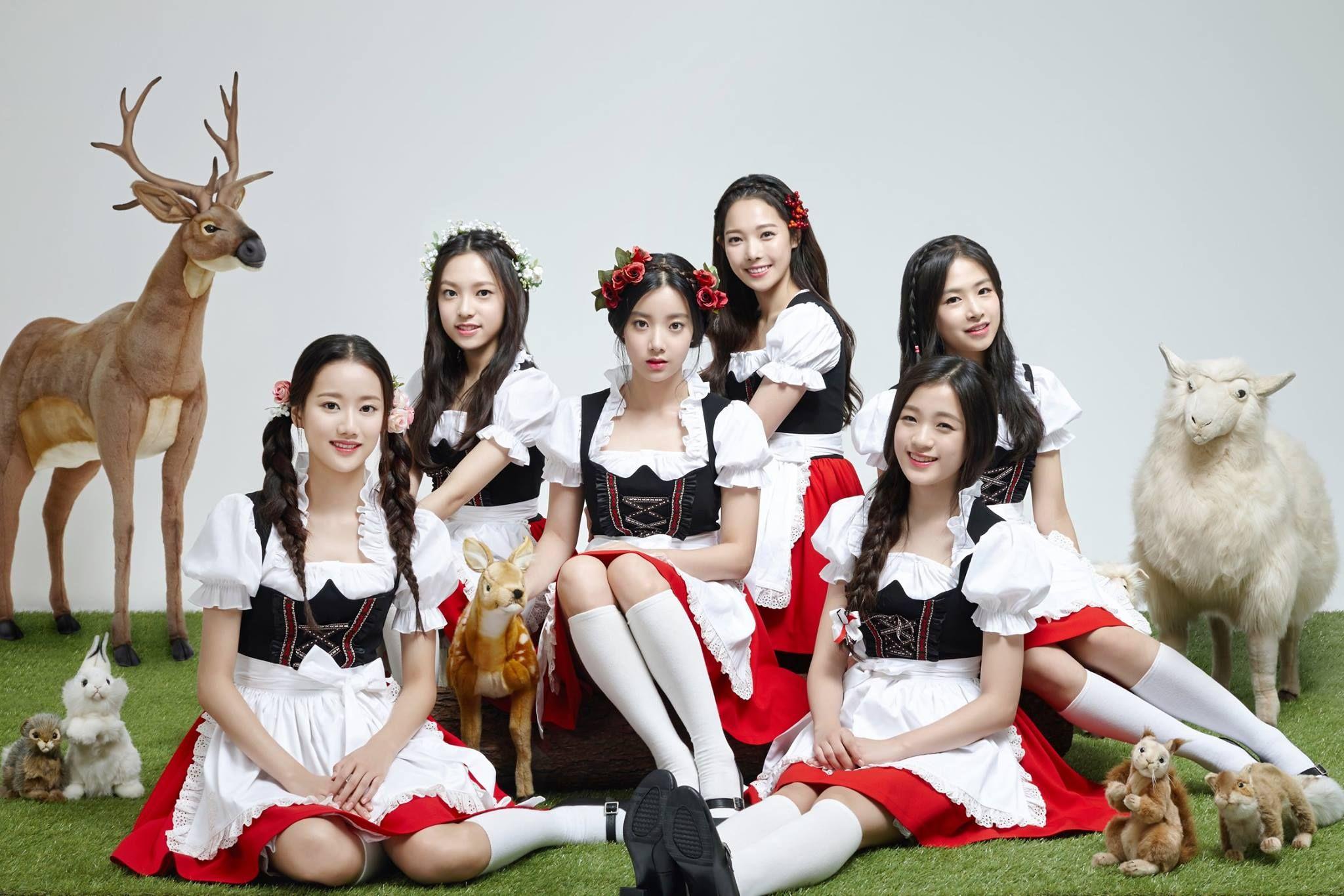 APRIL é o novo grupo da DSP Entertainment