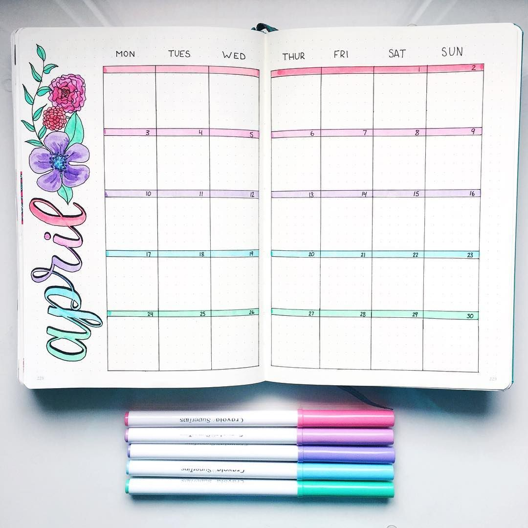 Diy Kalender Gestalten How To Start A Bullet Journal Plus Examples To Get You
