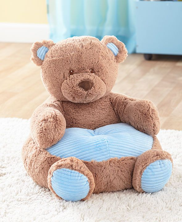 Kids Plush Animal Chairs Teddy Bear Nursery Bear