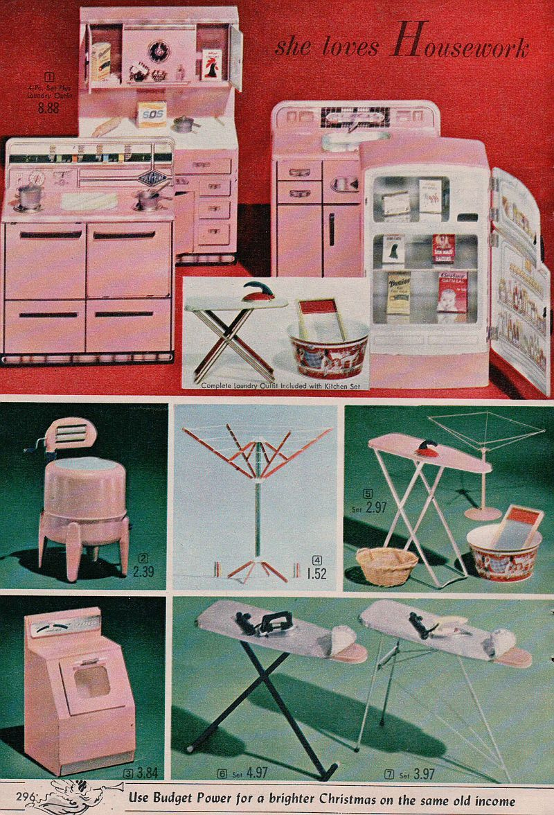 Image detail for Ad Kitchen Appliance Toys Wringer Washer