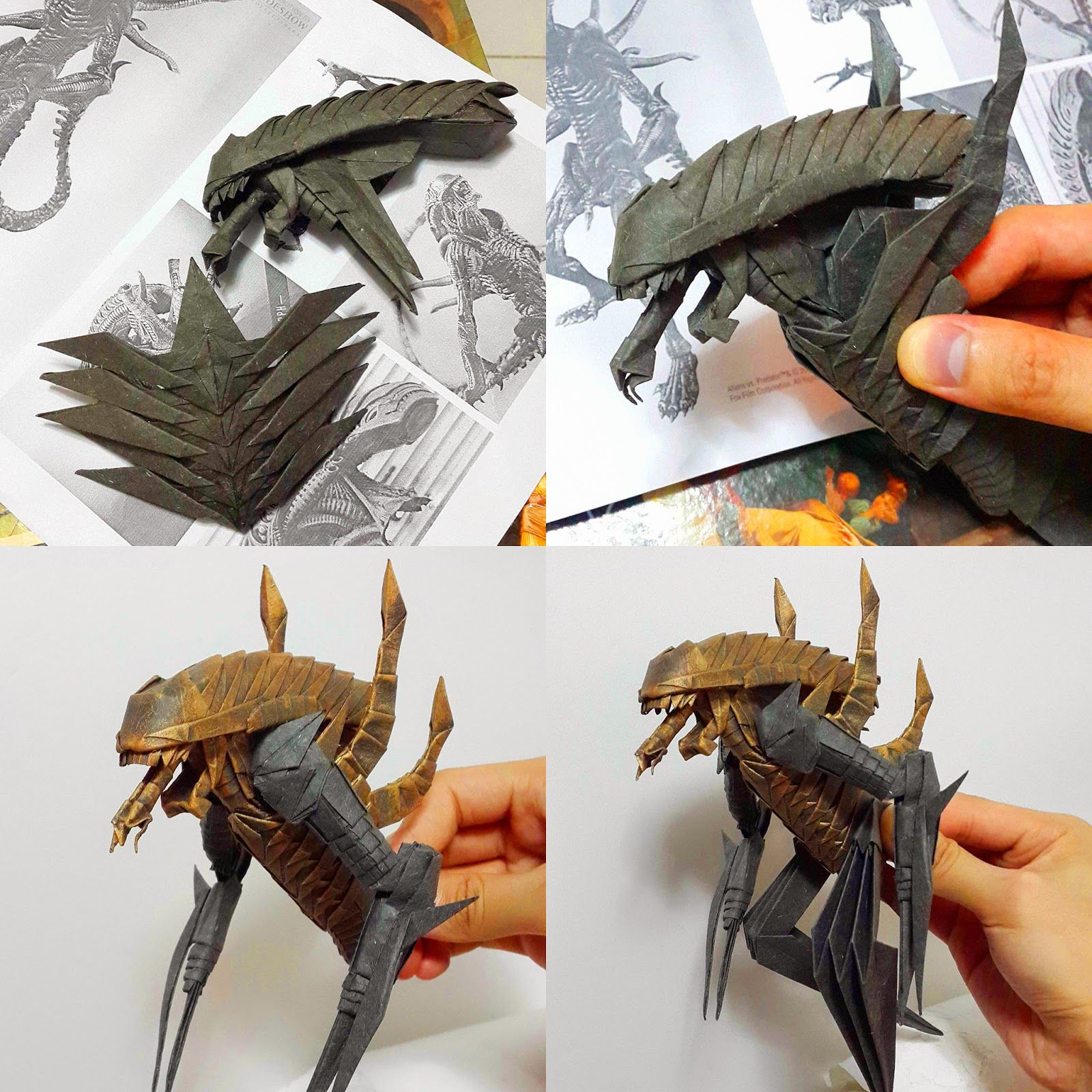 Pin by anton on origami pinterest origami aliens and papercraft craft jeuxipadfo Images