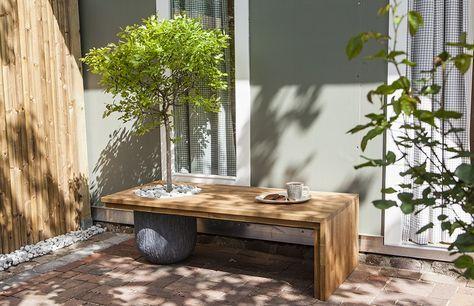 Funktionelles Gartenmöbel So bauen Sie eine schattenspendende - gartenmobel selber bauen anleitung