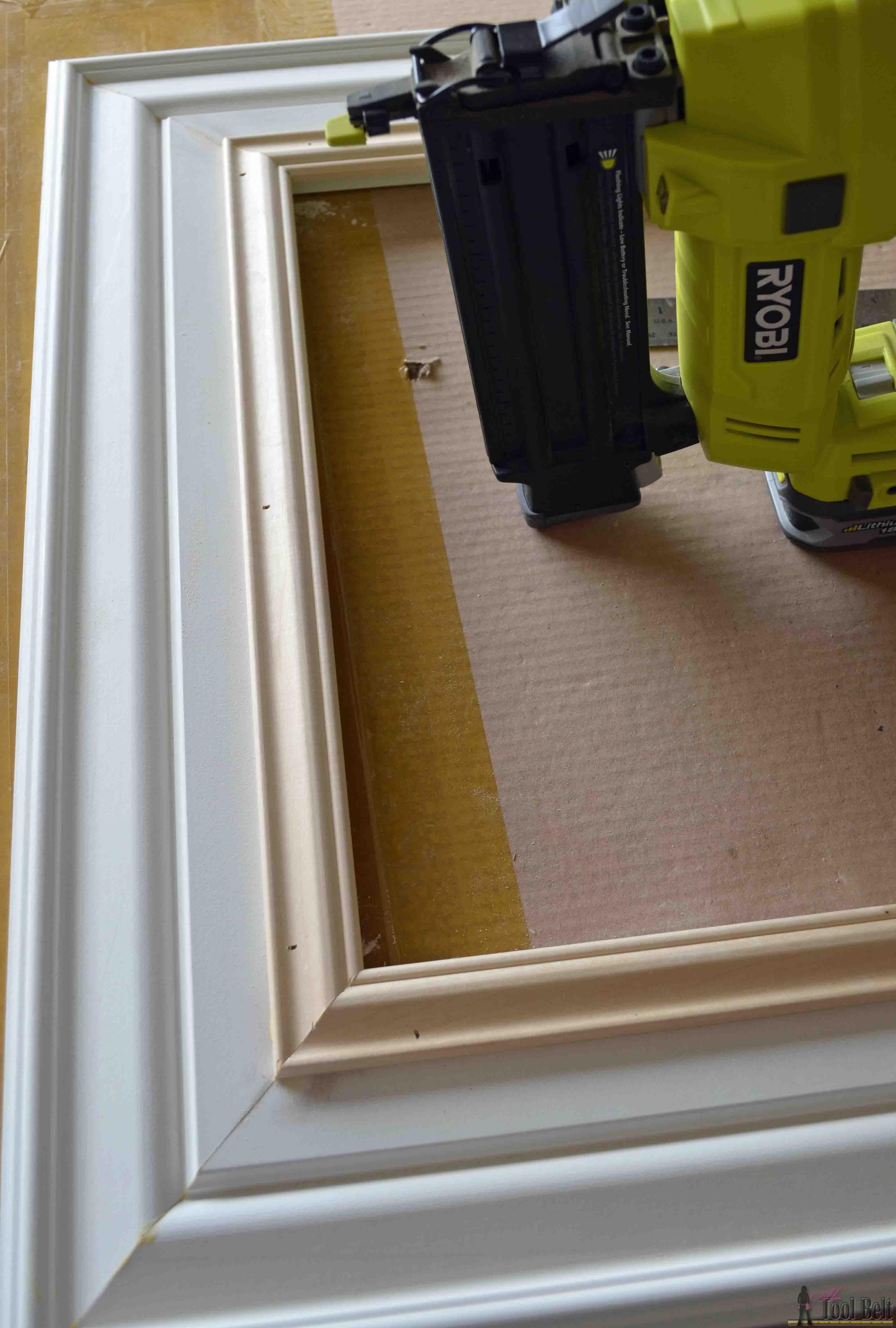 DIY Custom Picture Frame | Moulding, Hardware and Shop