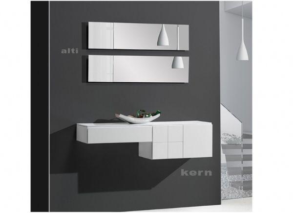 Recibidor kern 39 mueble entrada blanco muebles de entrada recibidores pinterest - Muebles de entrada blancos ...