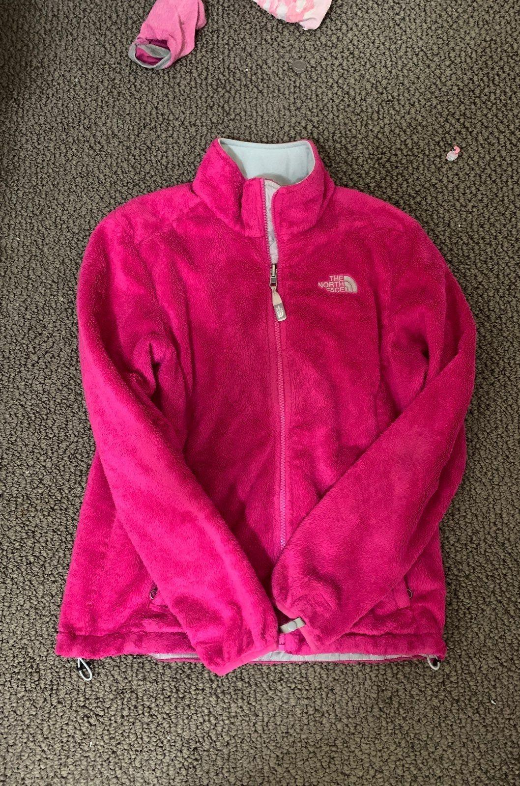 Hot Pink North Face Jacket Size Medium So Fuzzy Cute On North Face Coat Pink North Face Jacket Jackets [ 1600 x 1058 Pixel ]