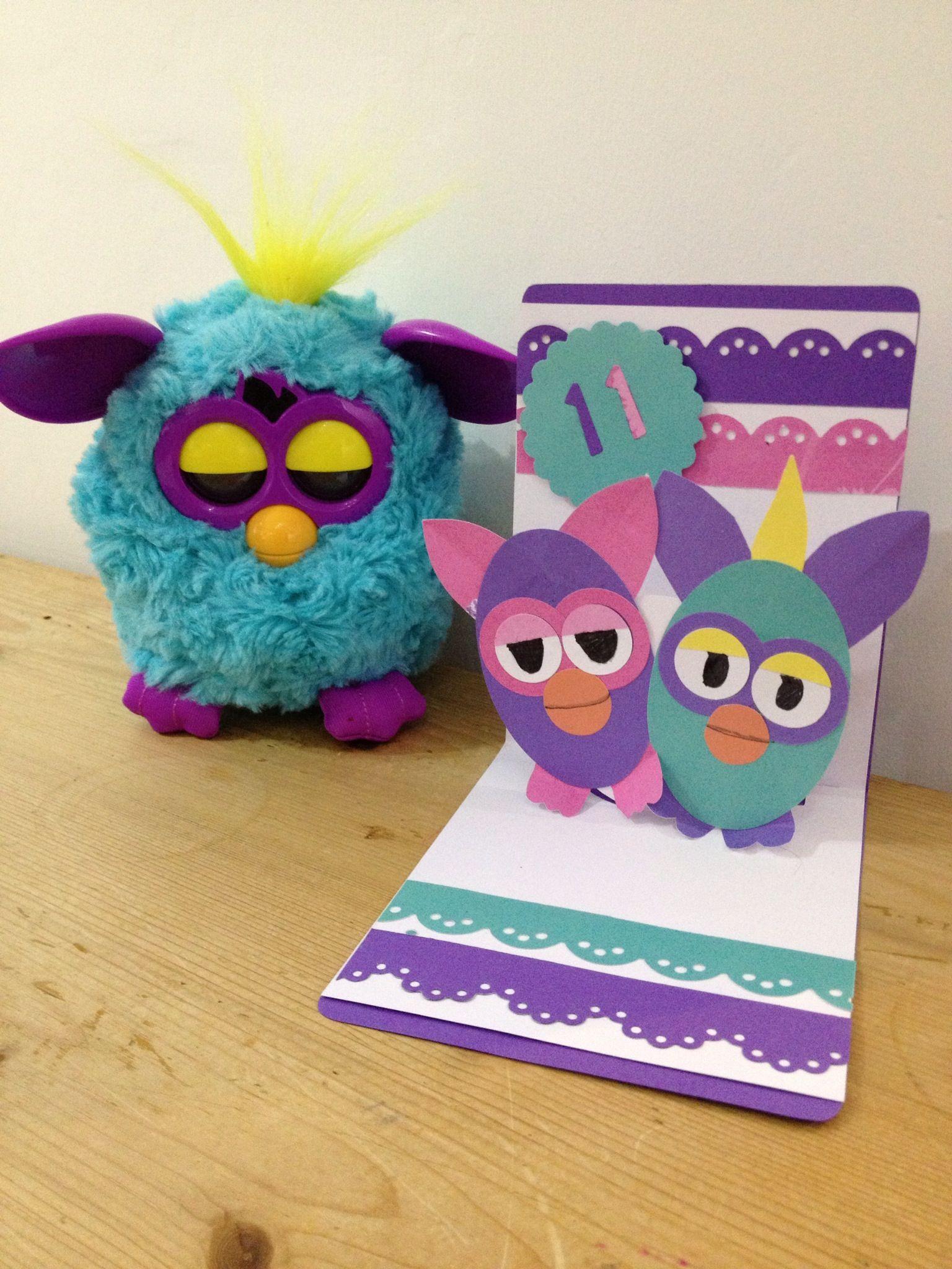 Furby Card Valentines Cards Furby 6th Birthday Parties