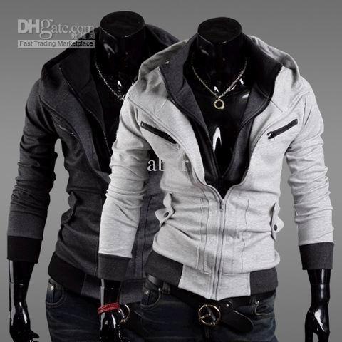New fashion Korean men's hoodie sweater cardigan male short/coat  /sweatshirt M/L - New Fashion Korean Men's Hoodie Sweater Cardigan Male Short/coat