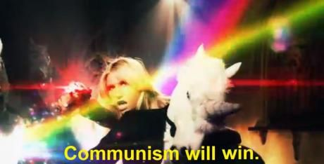 Ke$ha: communism will win.