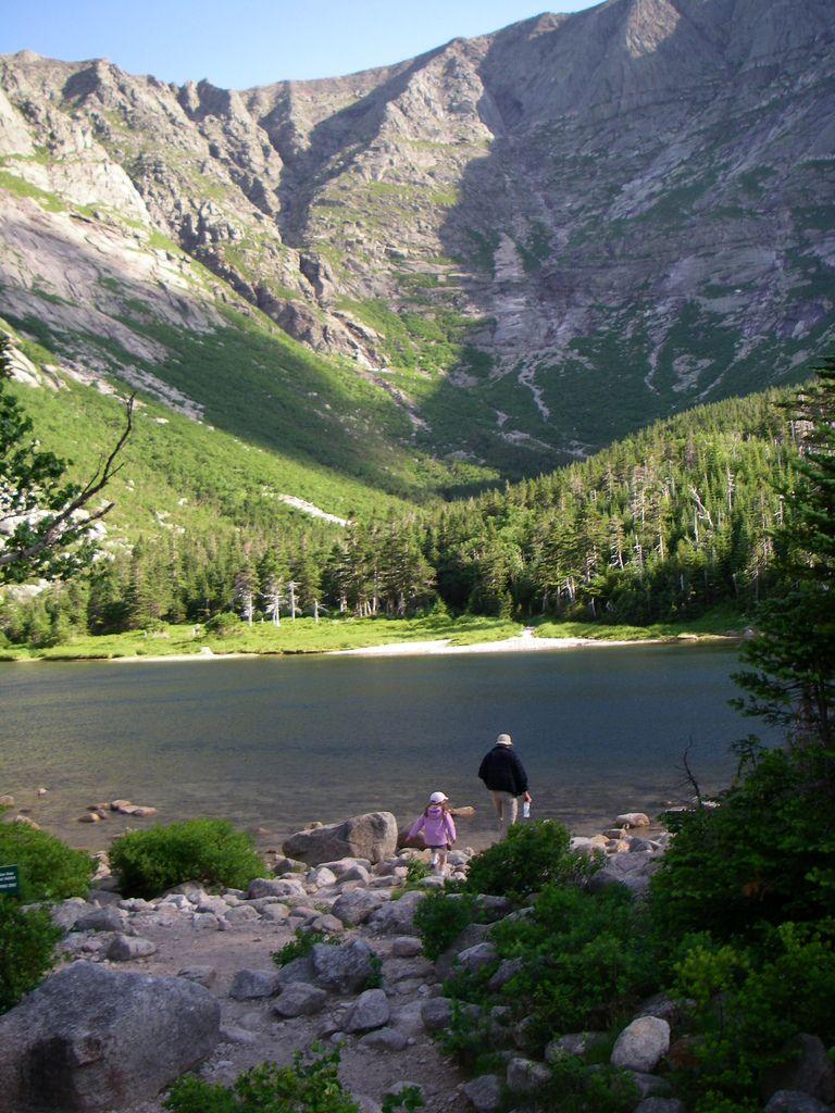 Maine State Parks >> Chimney Pond Baxter State Park Maine J K Hobbies Baxter