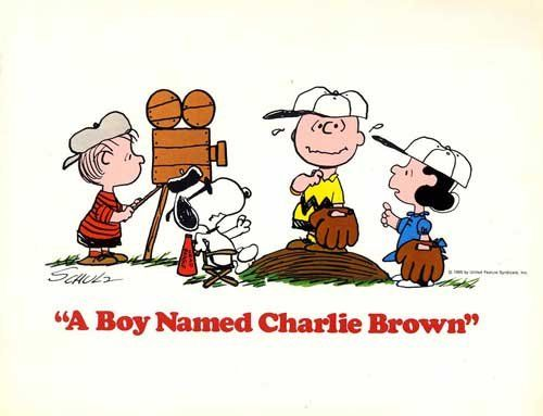 A Boy Named Charlie Brown 1970 Original USA Program Bill Melendez ...