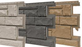 Fassadenplatte Aus Kunststoff In Natursteinoptik Fassadenplatten Wandverkleidung Aussen Fassadenverkleidung