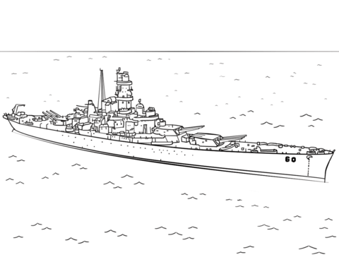 Printable Battleship Coloring Pages Coloring Pages Color Battleship