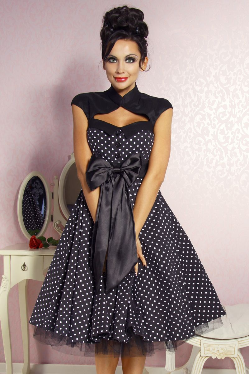 rockabilly kleid we all love fashion pinterest. Black Bedroom Furniture Sets. Home Design Ideas