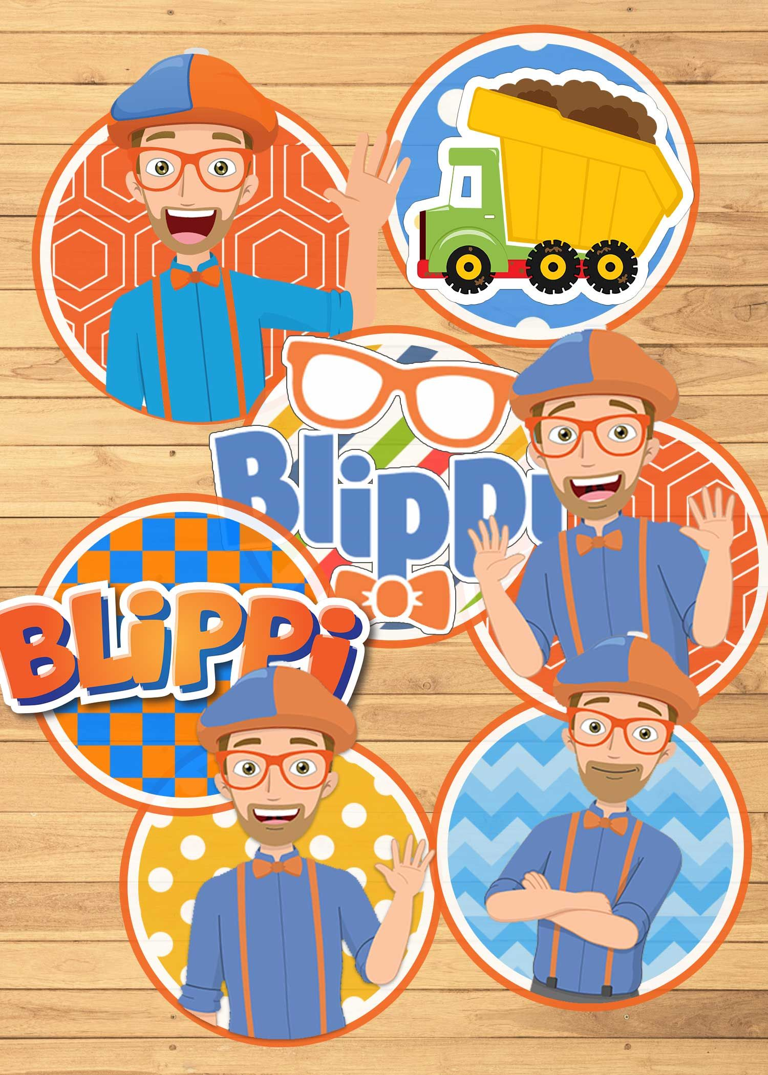 48+ Blippi birthday cake topper ideas in 2021