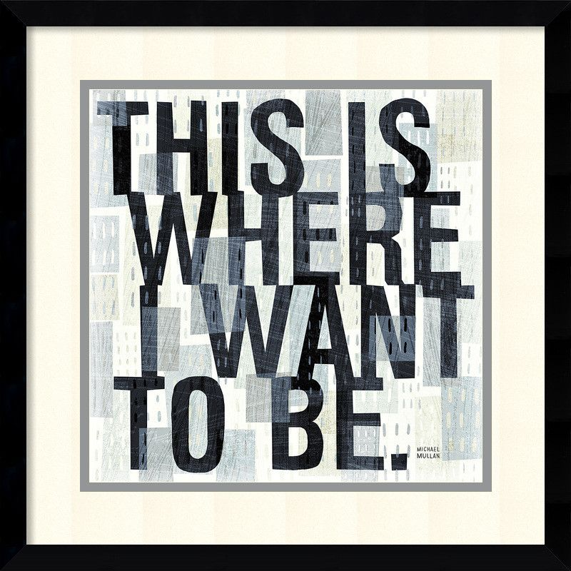 This is Where Framed Textual Art | Products | Pinterest
