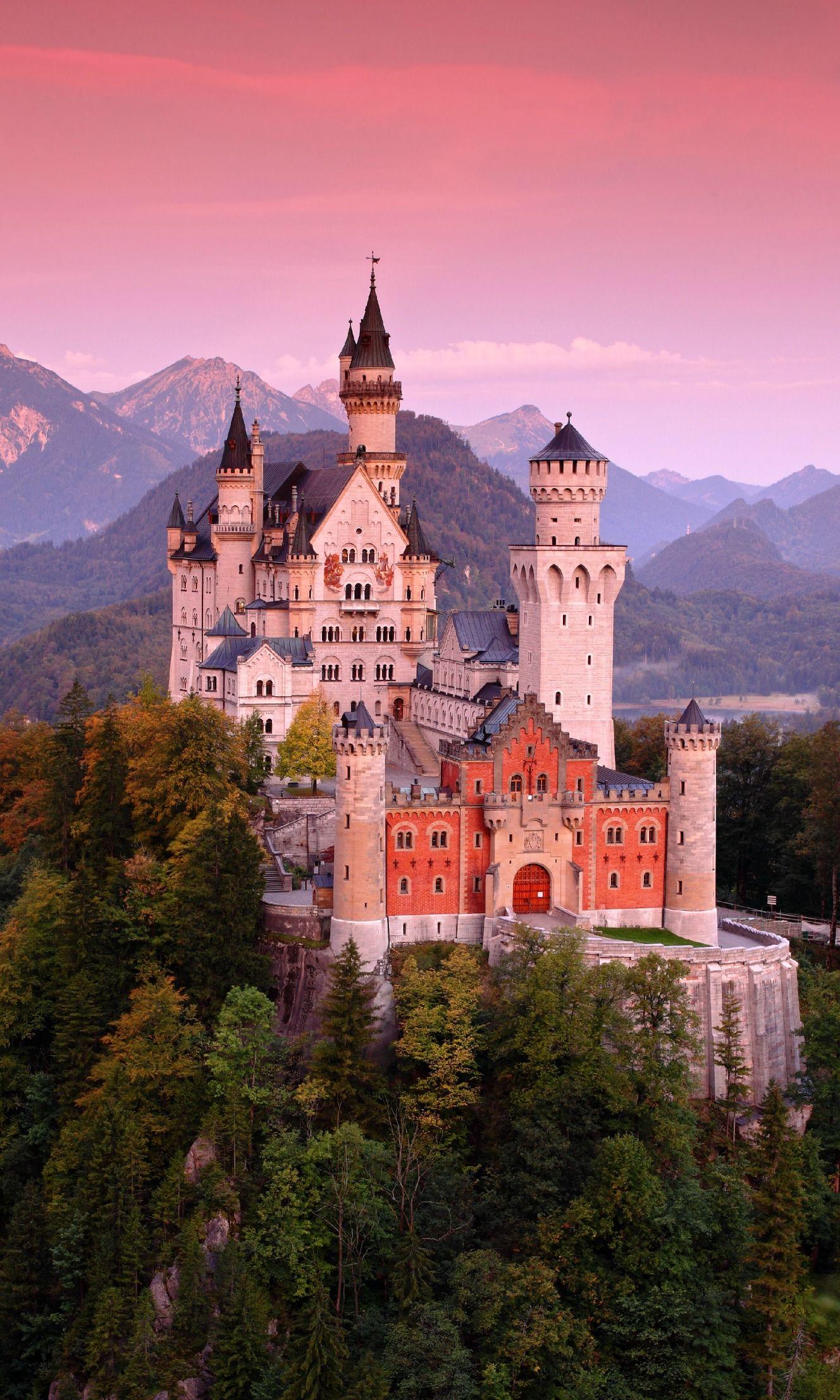 #Neuschwanstein, e gli altri magici castelli della #Baviera, da visitare almeno una volta nella vita!