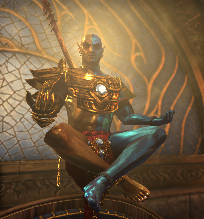 Lord Vivec The Living God In The Flesh Eso Morrowind The Elder