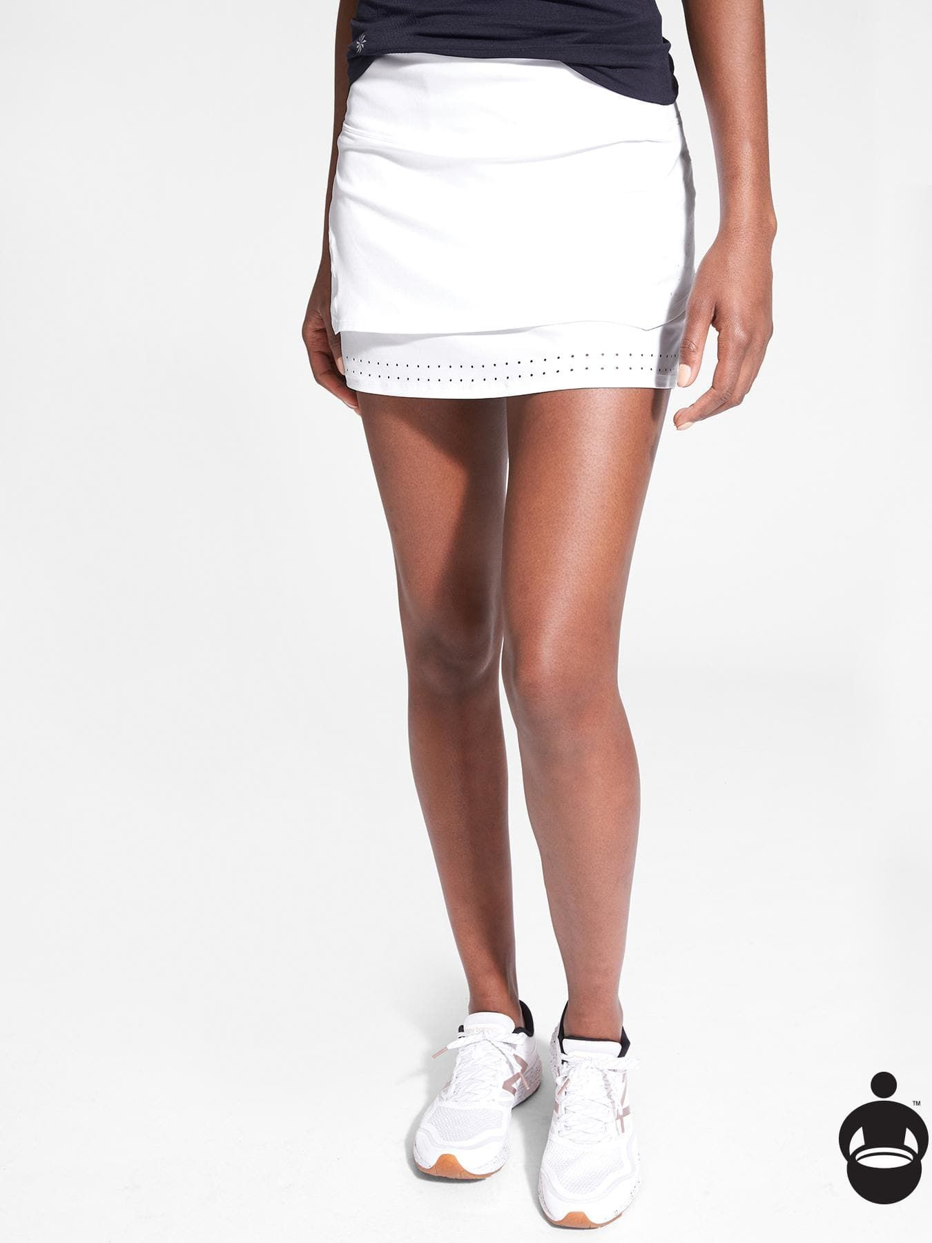 c757d08c01 Stealth TruCool Skort | Athleta. Stealth TruCool Skort | Athleta Golf Skirts,  Mini Skirts, White ...