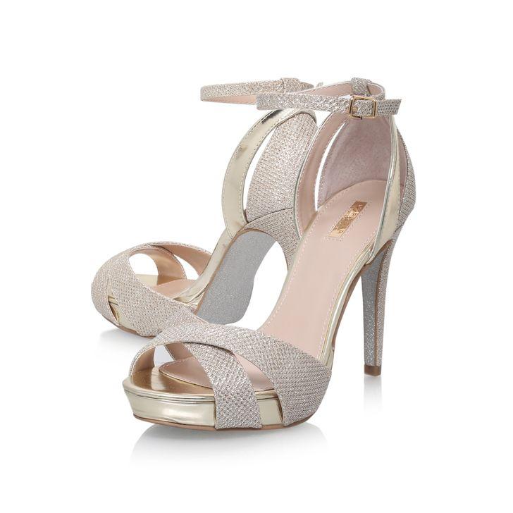 Gifted Gold High Heel Sandals By Carvela Kurt Geiger | Kurt Geiger