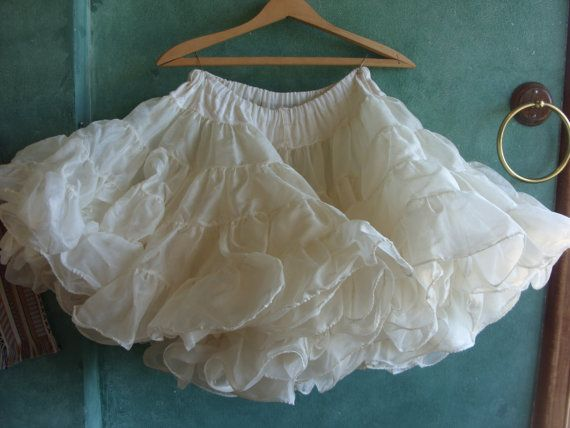 1940's French Ballet Tutu by KittyandDaggers on Etsy, $65.00