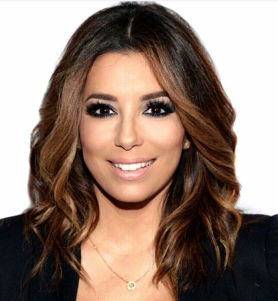 eva longoria makeup frizure pinterest haarfarbe f rben und haar ideen. Black Bedroom Furniture Sets. Home Design Ideas