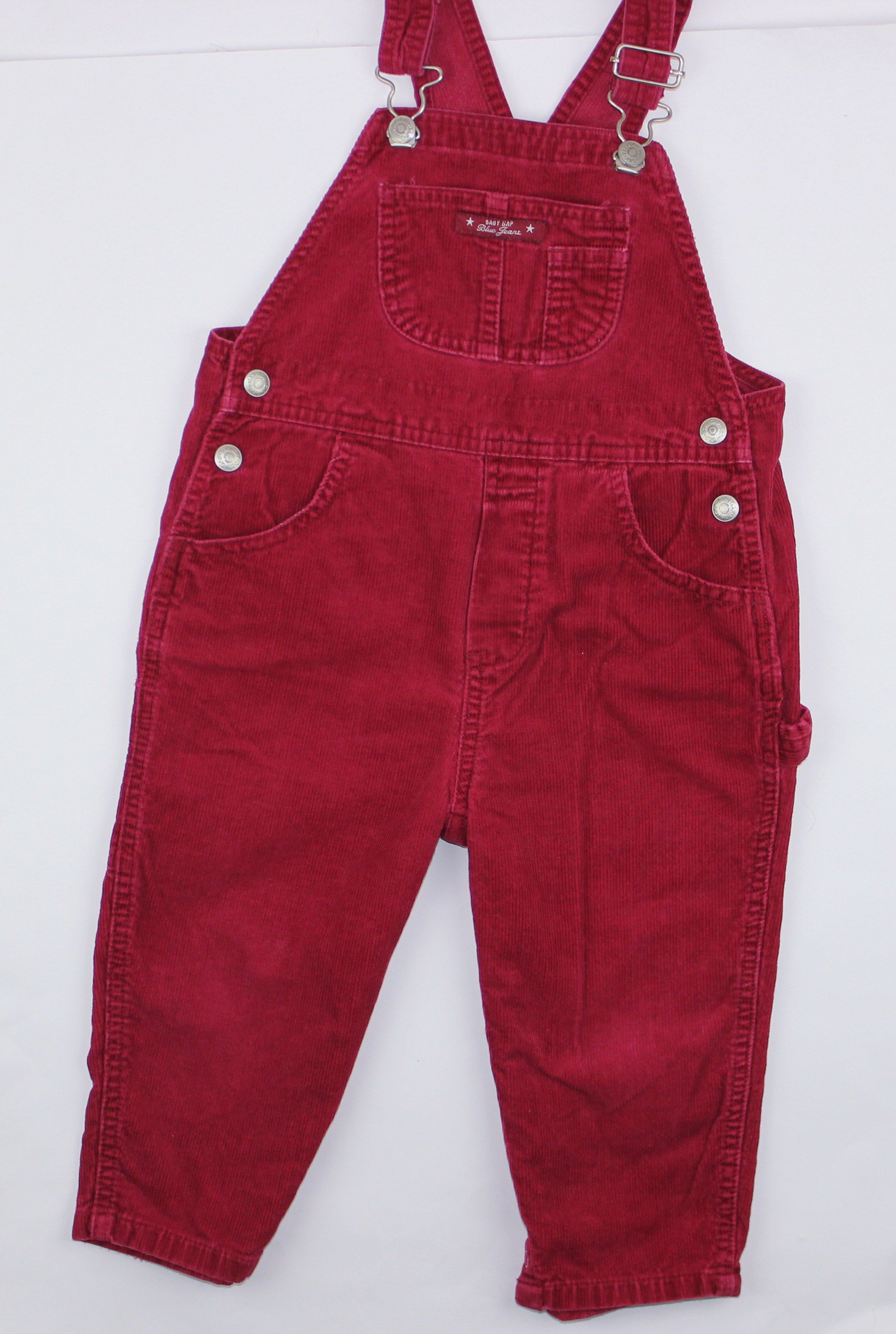 Baby Gap Red Corduroy Overalls Sizes 3 Xl 30 36 Months Only 6 Online Resale At May Bug Treasures Boys New Fashion Resale Clothing Kids Outfits