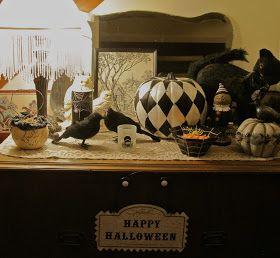 Rose of Sharon Garden: Halloween decorations!