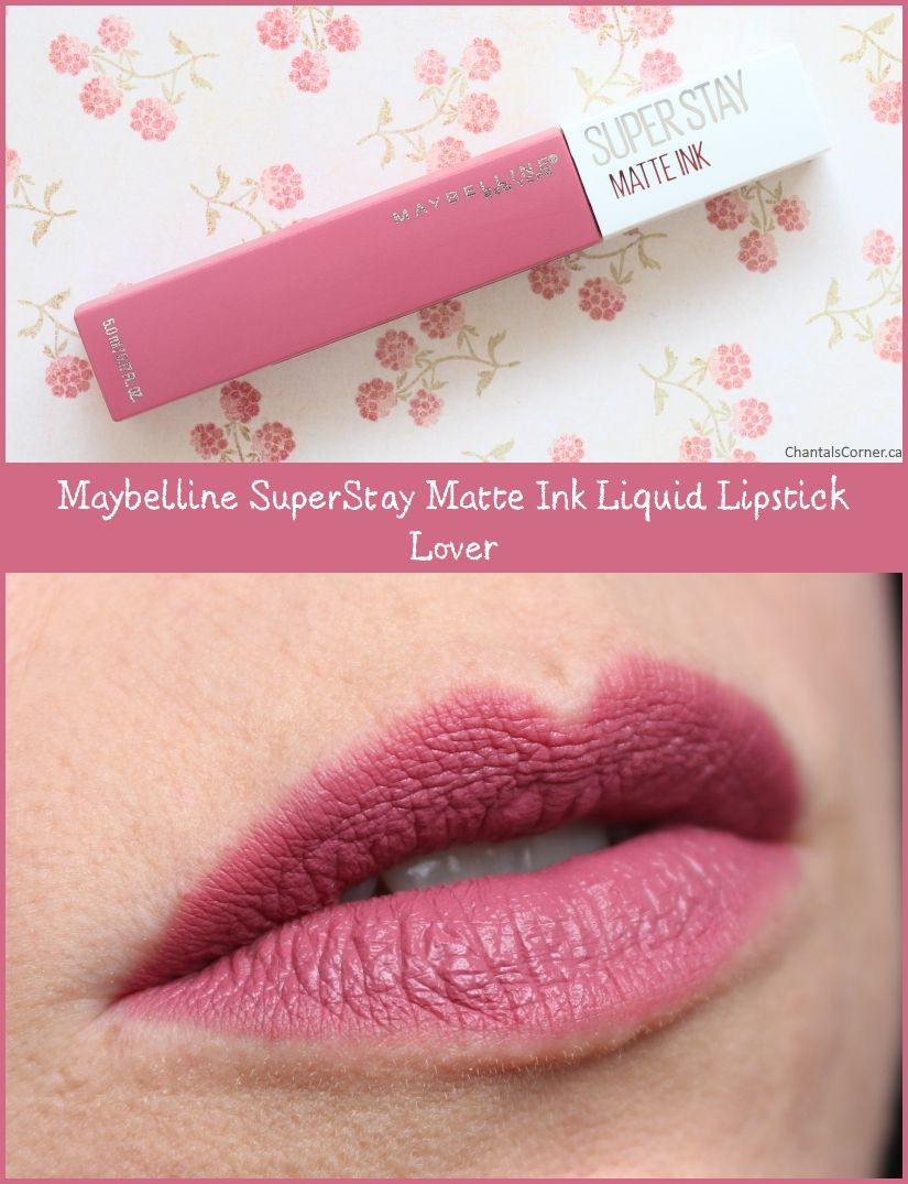 Maybelline Superstay Matte Ink In Lover And Seductress Review