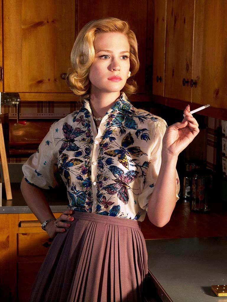 Cute Mad Men Hairstyles Women