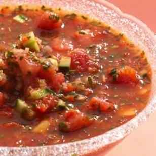 Watermelon Gazpacho - Lunch