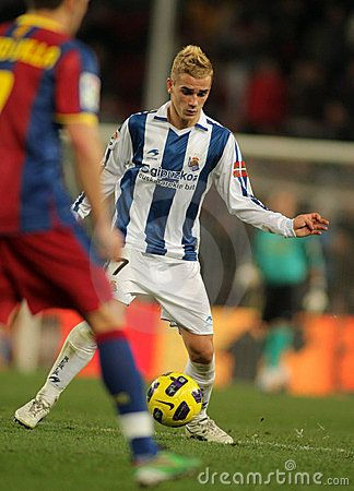 the best attitude c16cf 5339a Antoine Griezmann on Real Sociedad ~ | Soccer | Soccer ...
