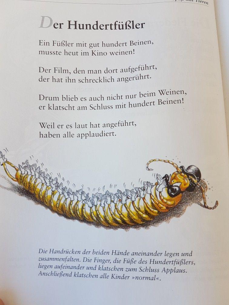 Im Hinterhof von Hoffmanns Haus #fingerspiel #krippe #kita - würmer in der küche