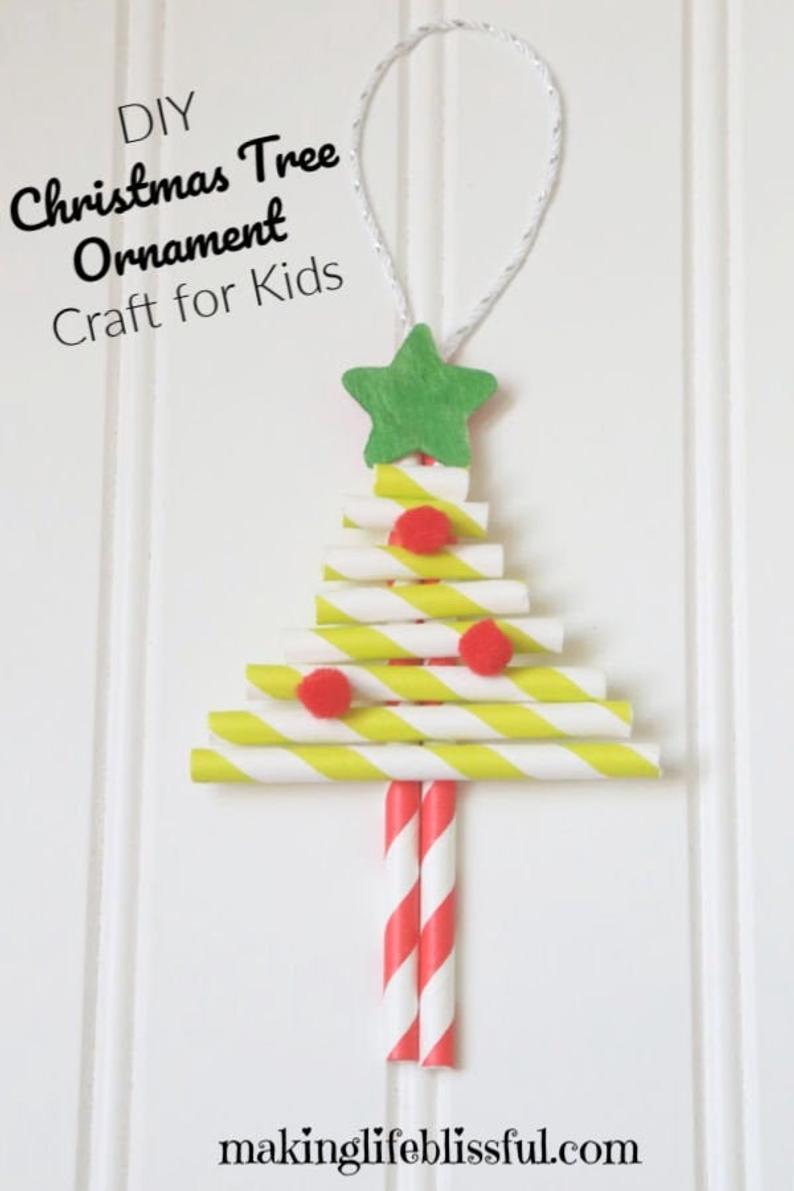 Christmas Ornament Craft Kit For Kids Etsy Diy Christmas Tree Ornaments Christmas Ornaments Diy Kids Christmas Tree Crafts
