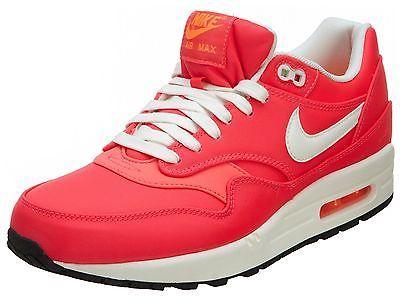 separation shoes d6c64 099a0 Nike Air Max 1 Premium QS Mens 665873-600 Mercurial Punch Running Shoes  Size 10